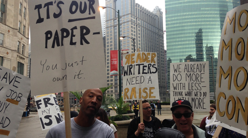 Chicago Reader staff rallies to call out negligent publisher