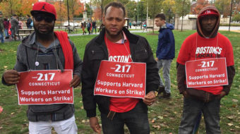 Harvard strike solidarity inspires Connecticut workers
