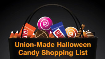 Union-Made in America: Halloween candy shopping list