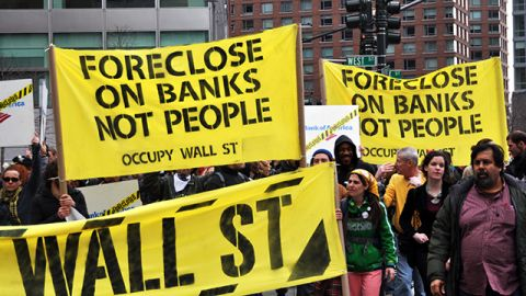 Unions push Congress to curb banks, restore Glass-Steagall