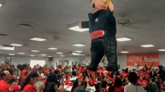 Political roof falls in on union members