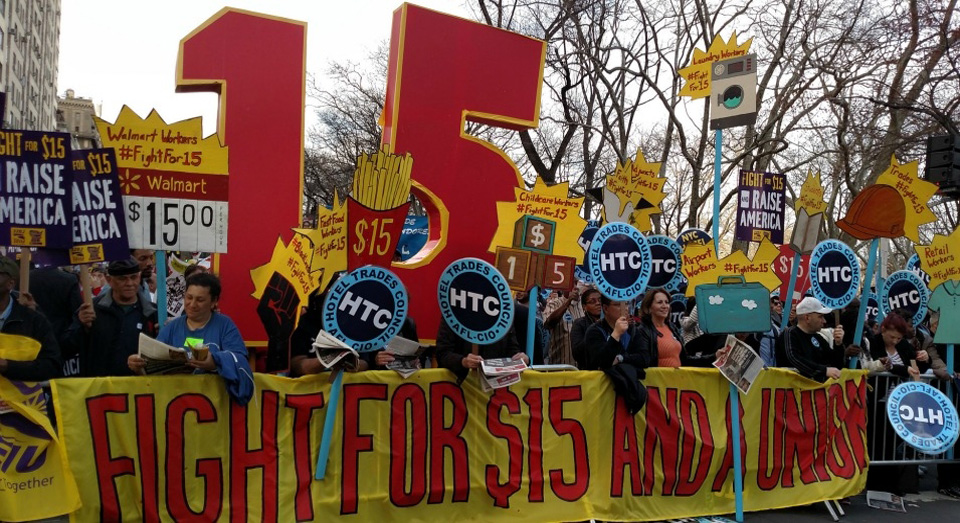 Low-paid workers to take to the streets Nov. 29