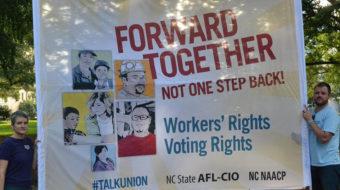 Labor IS involved in social justice struggles