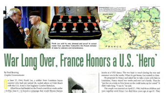 Unionist gets top French medal for heroic World War II service