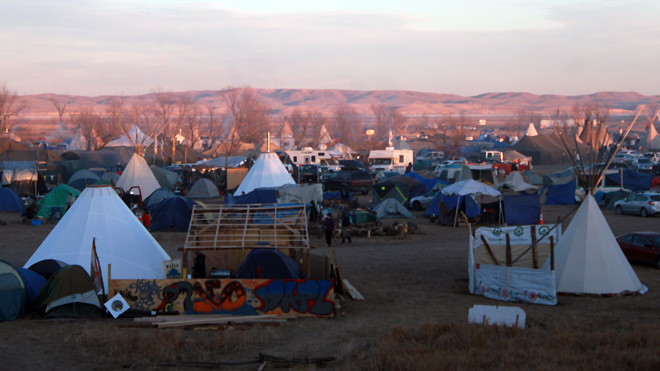 U.S. Army Corps says no plans for forcibly removing Standing Rock water protectors