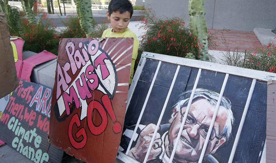 Arizona: Rising Latino vote takes down Arpaio in landslide