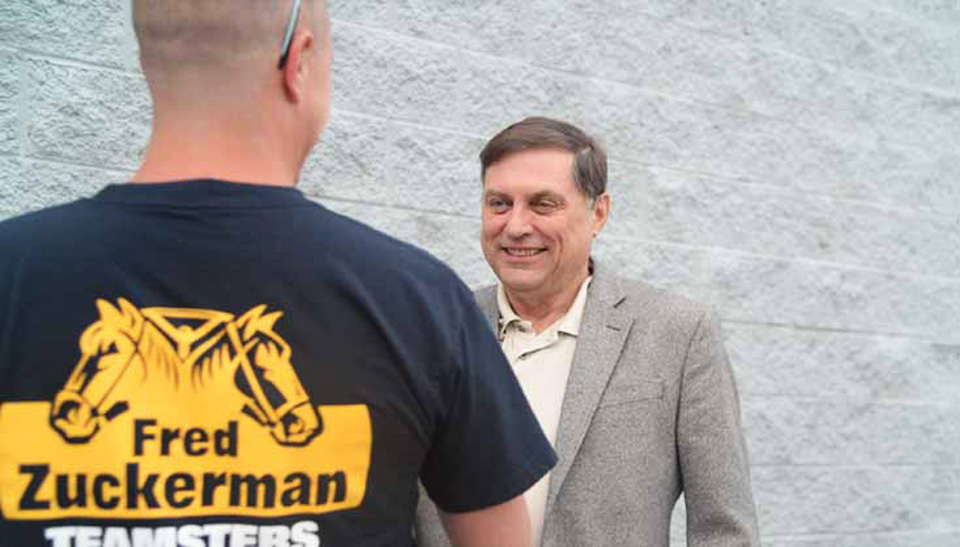 Hoffa-Hall lead in Teamster election, lose ground to reform slate