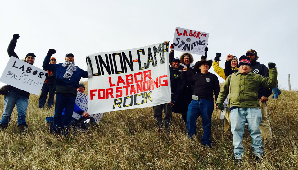 U.S. Labor Against the War: We stand with Standing Rock