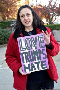 Delfina Vannuchi of Peace Action Staten Island (PASI)