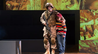 """Courageous multimedia opera """"Soldier Songs"""" impresses in San Diego"""