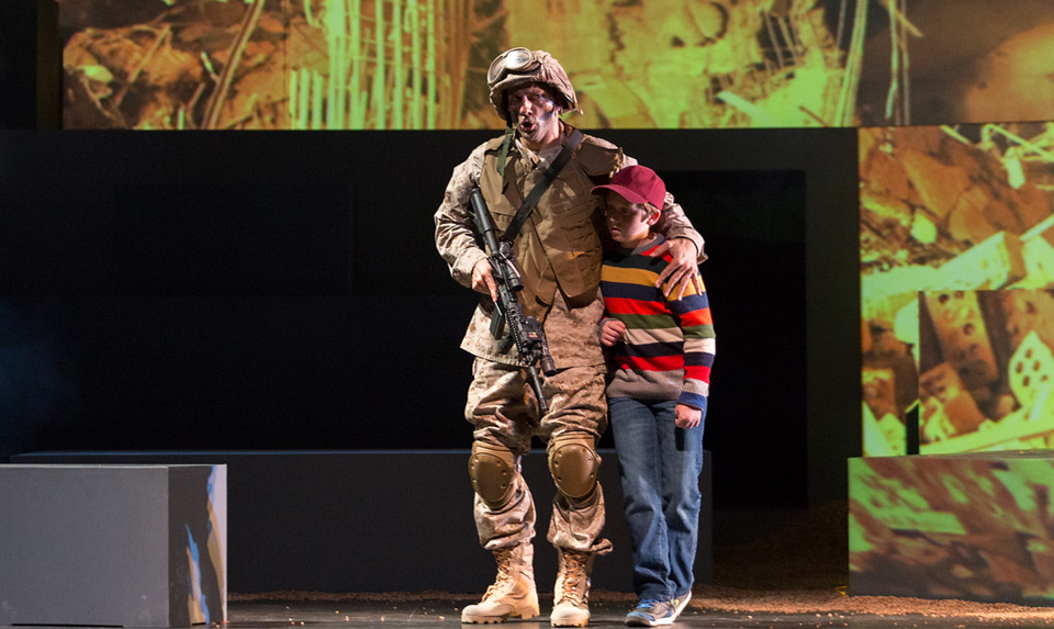 "Courageous multimedia opera ""Soldier Songs"" impresses in San Diego"