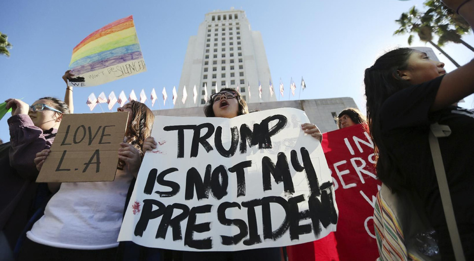 Californians say their state stands against Trump agenda