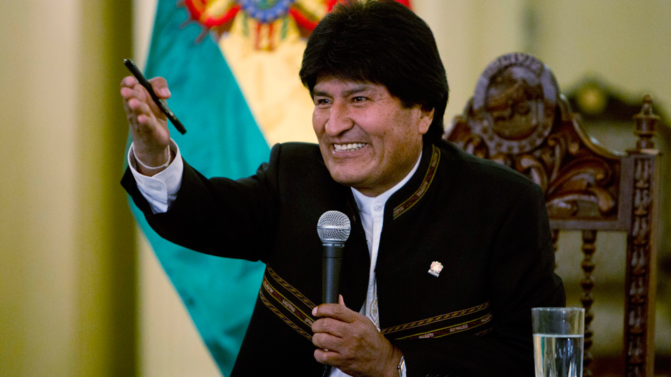 Bolivia's Evo Morales looks for way around term limits