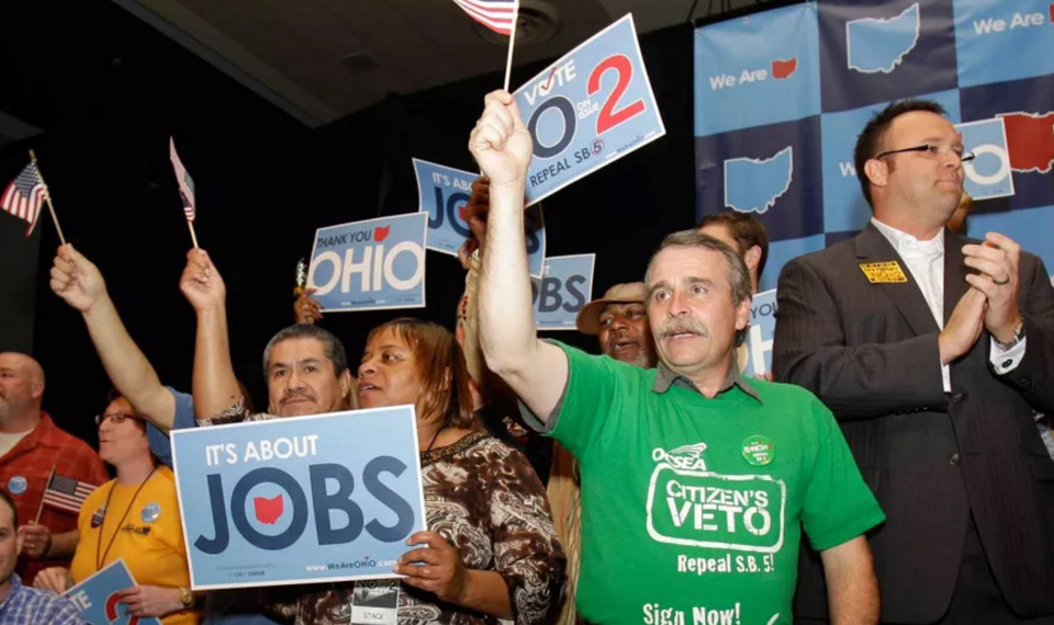 Ohio GOP surrenders on unemployment compensation bill