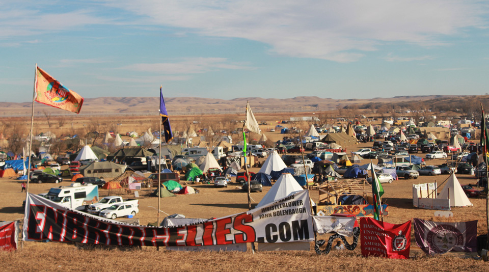 #NoDAPL pipeline opposition a model for resistance under Trump
