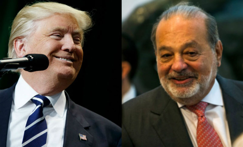 Trump breaks bread with NAFTA's greatest Mexican beneficiary