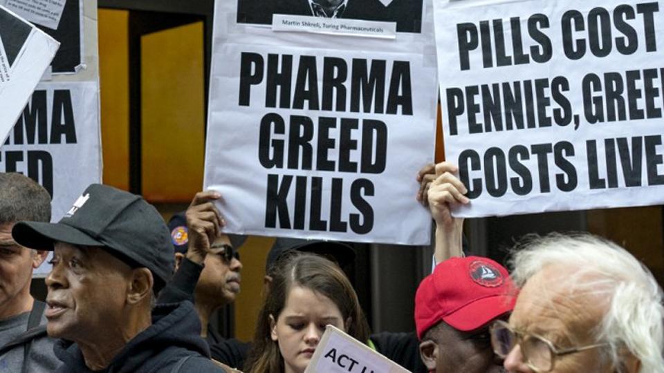 Nurses call out Senate Dems who voted with Big Pharma