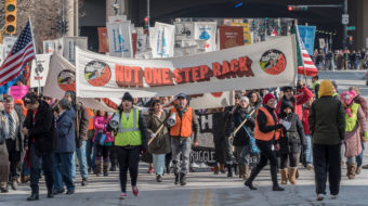 Thousands March in Milwaukee to Defend Immigrant & Refugee Rights