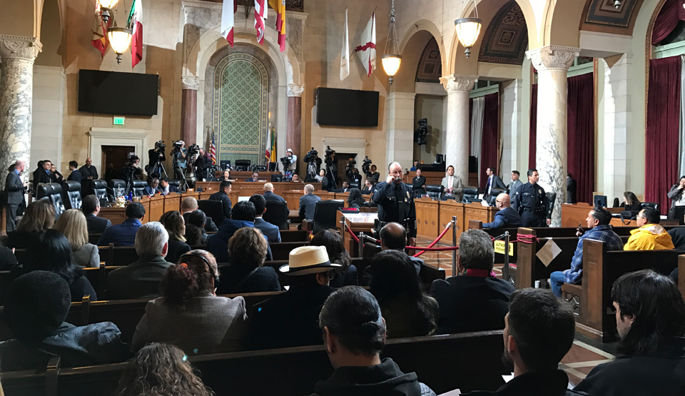 Los Angeles City Council chooses resistance