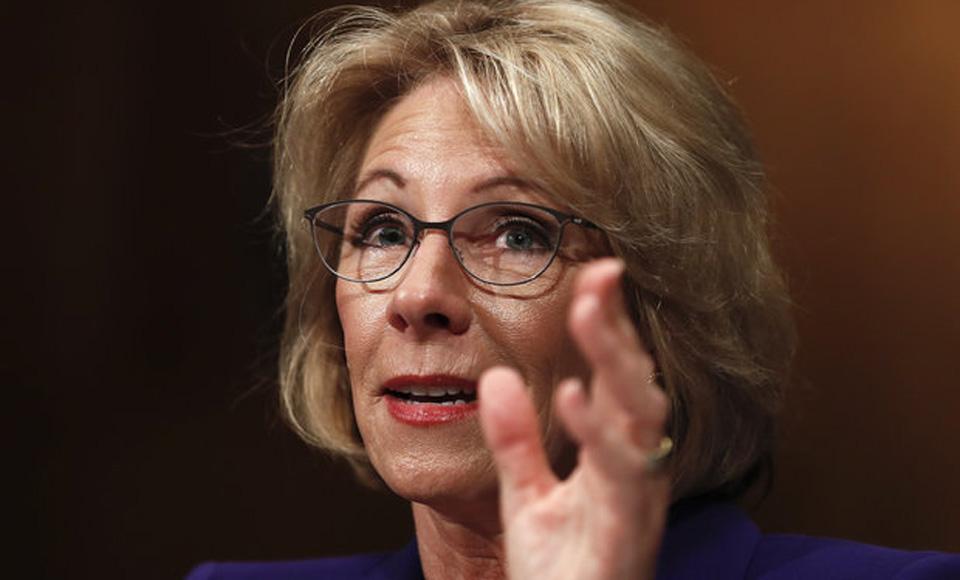 School administrators, AFL-CIO, AFSCME oppose DeVos