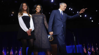 In Obama's farewell speech, changemakers emerge as legacy