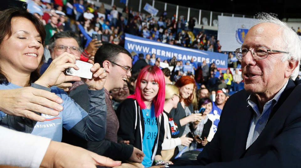 Sanders-backed rallies show Dems the way ahead of  Trump inauguration