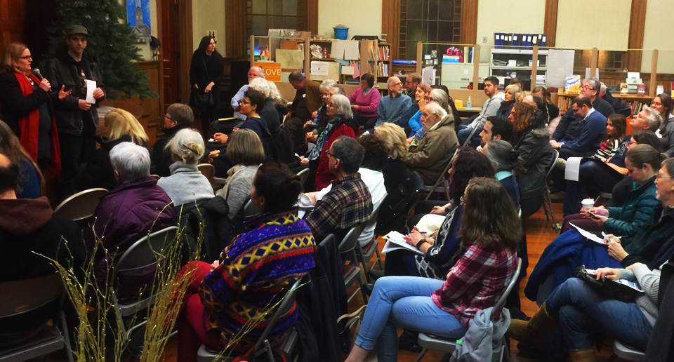 Local resistance to Trump mobilizes in Massachusetts