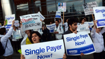 Doctors hail reintroduction of Medicare-for-all bill