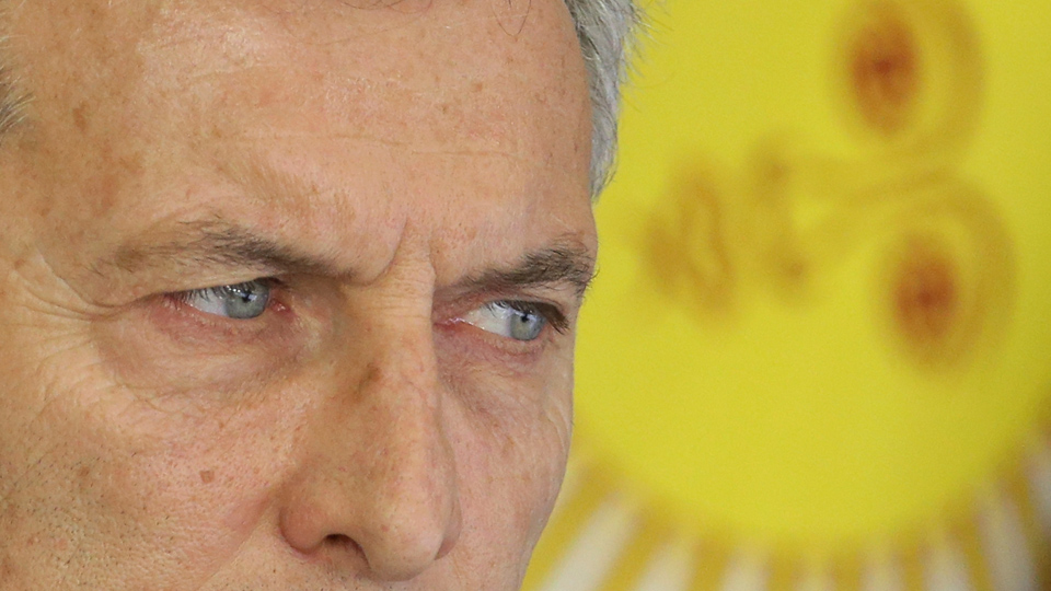 Argentina's President Macri has a Trump problem