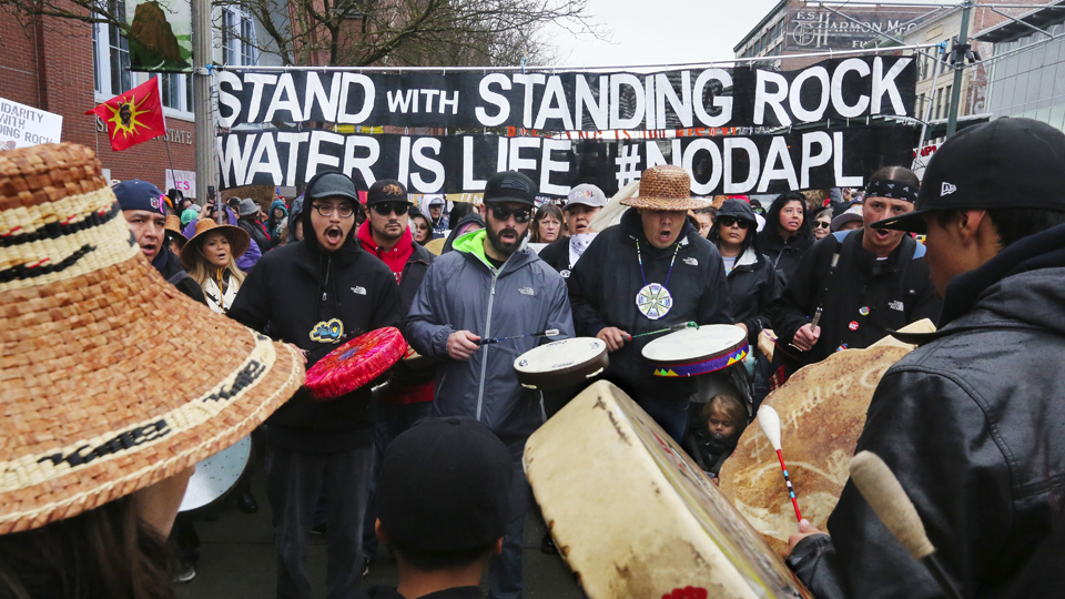 Standing Rock Water Protectors speak in Tennessee