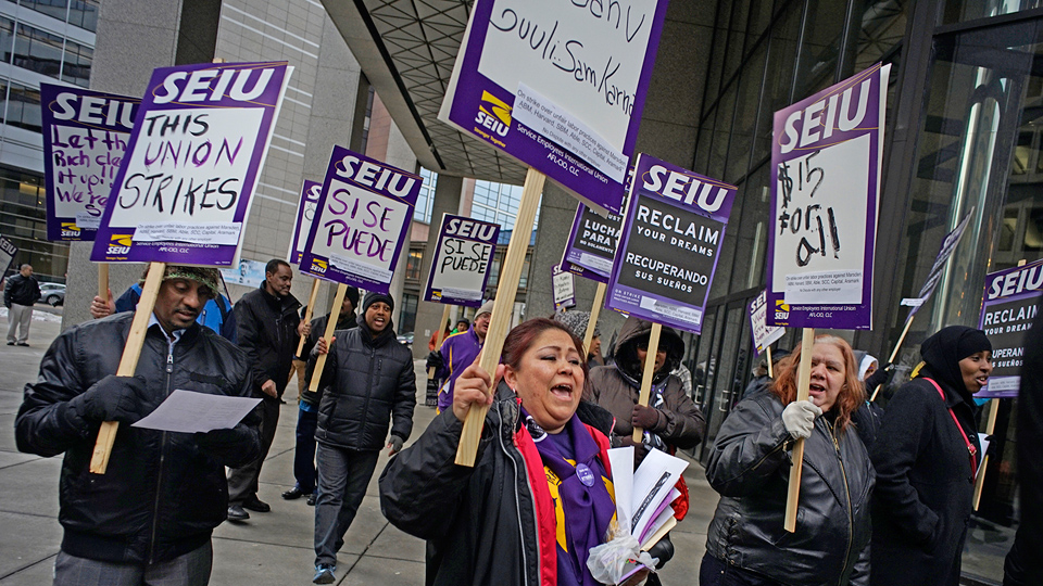 Twin Cities janitors' fight yields first union contract
