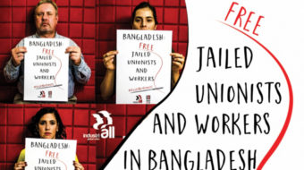 Bangladesh: Dozens of workers imprisoned for striking