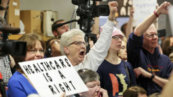At town halls during Congressional recess, Californians urge support for Affordable Care Act