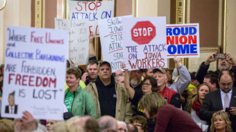 AFSCME takes Iowa to court over gutting of public workers' rights