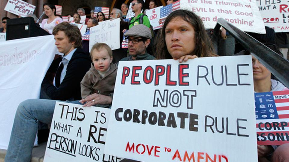 Proposed Amendment would shut big money out of politics