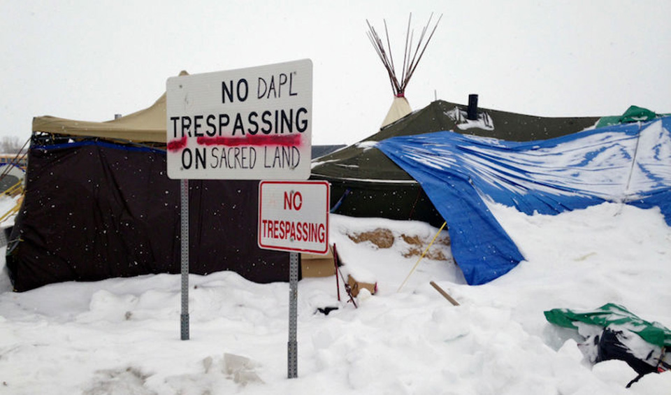 "Trump launches ""blitzkrieg"" against Native America on DAPL issue"
