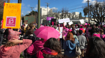 Defending Planned Parenthood in San José and nationwide