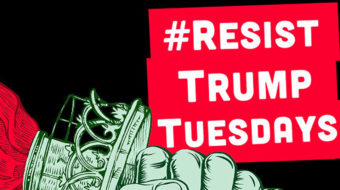 New York's Resist Trump Tuesday demonstrators speak to wavering Dems too