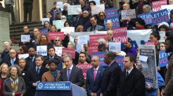 New York progressives discuss tactics