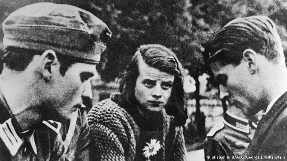 Sophie and Hans Scholl