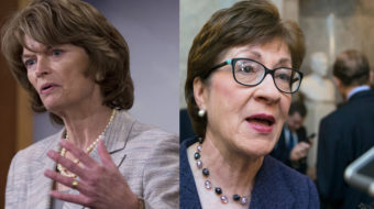 Two GOP senators oppose DeVos