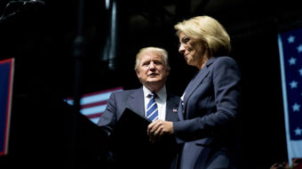Trump's pick for Secretary of Education would privatize public schools