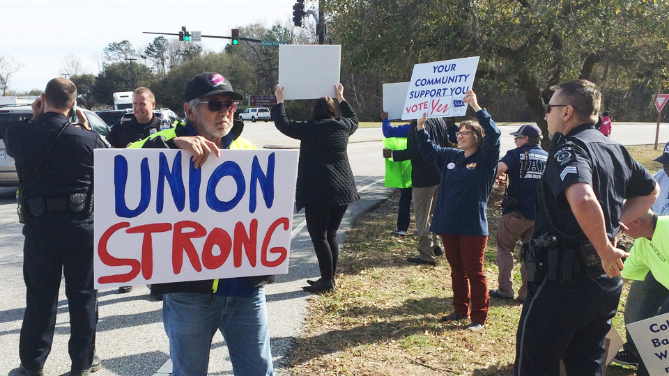 Amid unionbusting tactics, Boeing workers to vote tomorrow on a union
