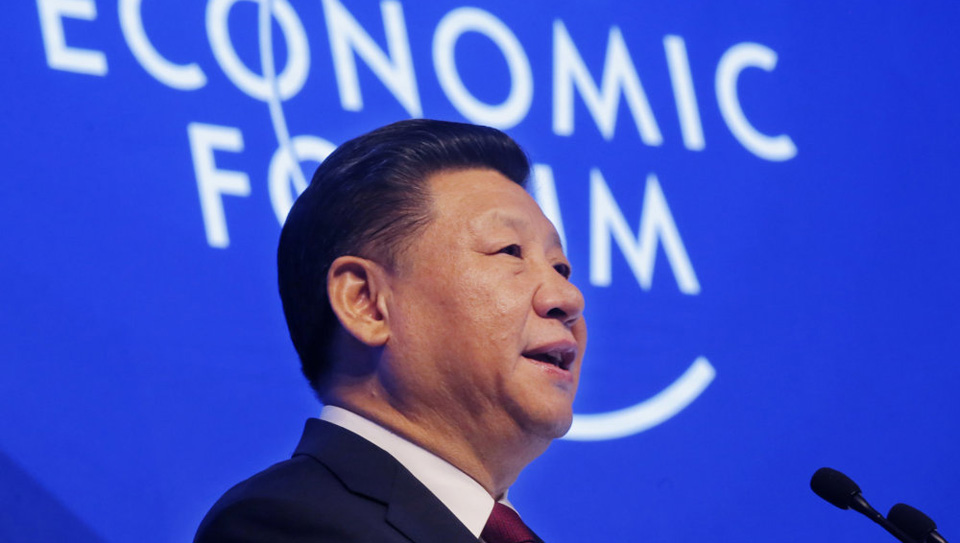 Chinese Communist leader defends globalization while U.S. talks isolationism