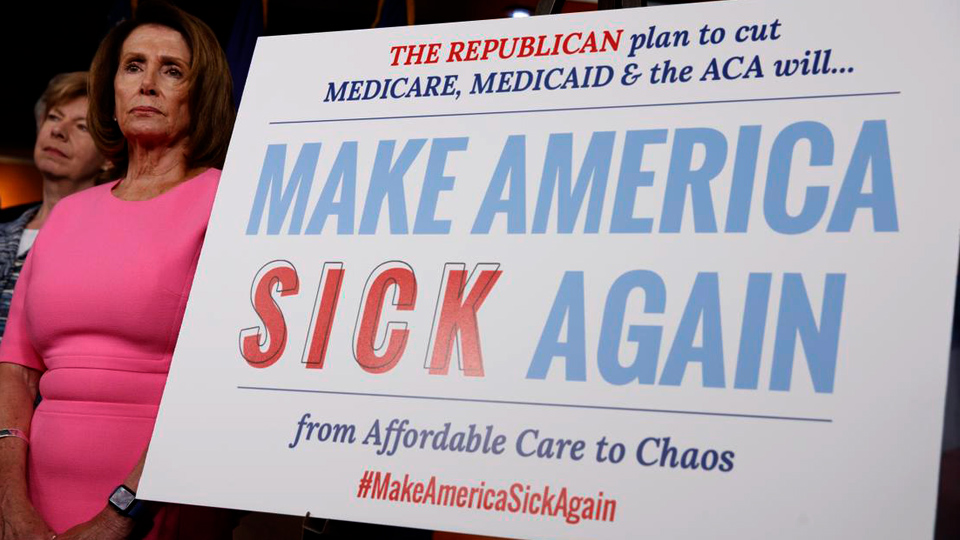 Rich get richer, poor get sicker under GOP plan