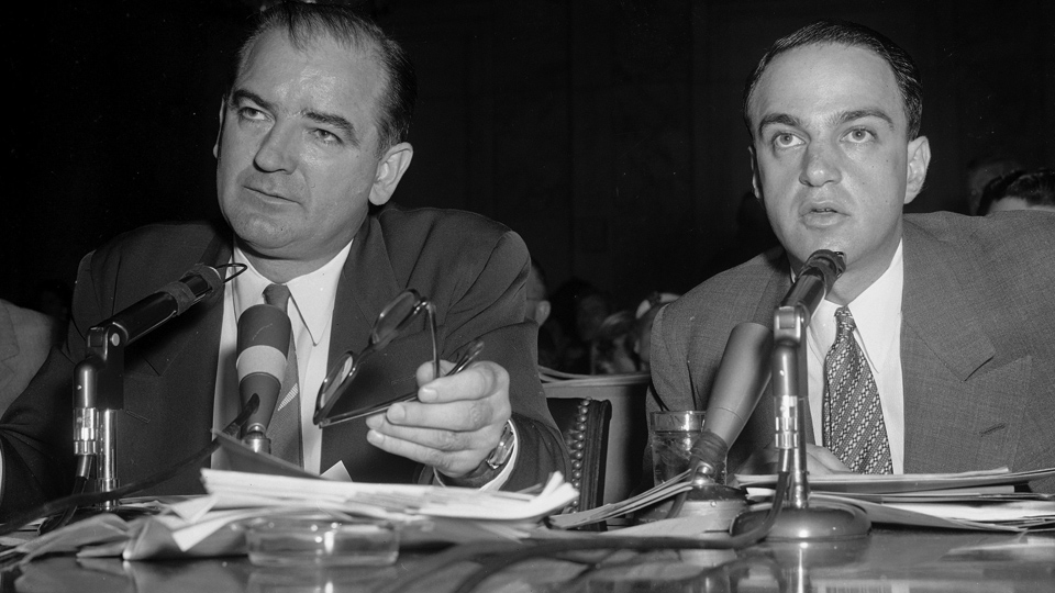 Trump knows McCarthyism: His mentor helped create it