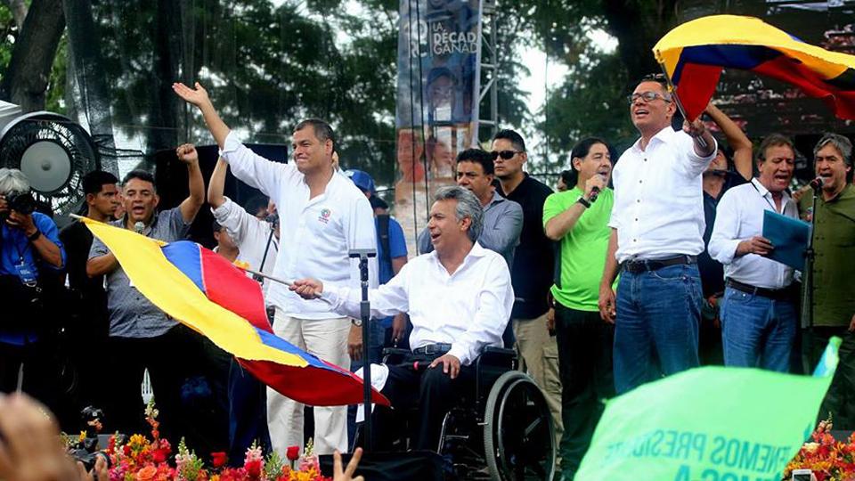 Lenín Moreno es el futuro del Ecuador