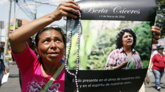 Murdered one year ago, Berta Cáceres defended environment and indigenous rights