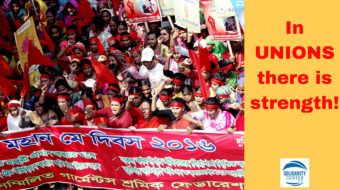 Workers' rights as human rights: The Solidarity Center, the UN, and the ITUC