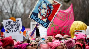 The women's struggle for equality and the way forward in the age of Trump